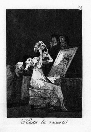 Sketsa Francisco Goya - Los Caprichos 55