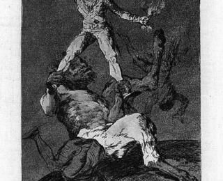 Sketsa Francisco Goya - Los Caprichos 56