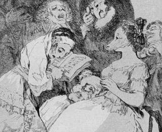 Sketsa Francisco Goya - Los Caprichos 57