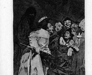 Sketsa Francisco Goya - Los Caprichos 58