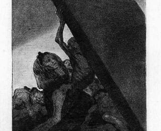 Sketsa Francisco Goya - Los Caprichos 59