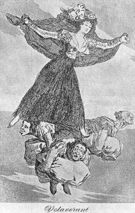 Sketsa Francisco Goya - Los Caprichos 61