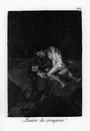 Sketsa Francisco Goya - Los Caprichos 62