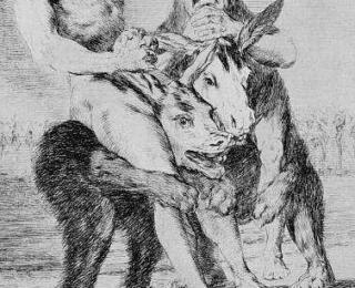 Sketsa Francisco Goya - Los Caprichos 63