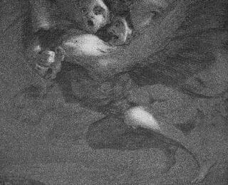 Sketsa Francisco Goya - Los Caprichos 64