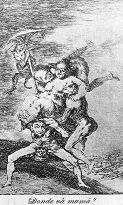 Sketsa Francisco Goya - Los Caprichos 65