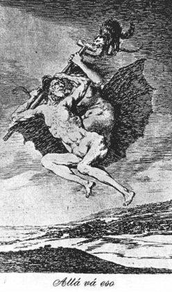 Sketsa Francisco Goya - Los Caprichos 66