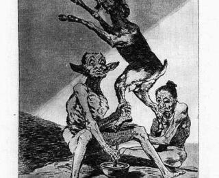 Sketsa Francisco Goya - Los Caprichos 67
