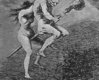 Sketsa Francisco Goya - Los Caprichos 68