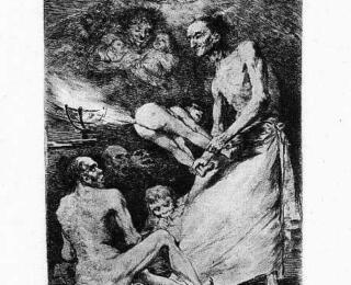 Sketsa Francisco Goya - Los Caprichos 69