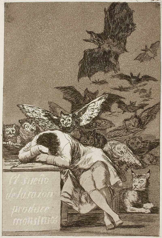 Tingkah Polah Manusia Kumpulan Sketsa Goya Los Caprichos