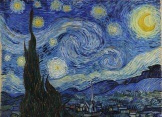 lukisan vincent van gogh - the starry night