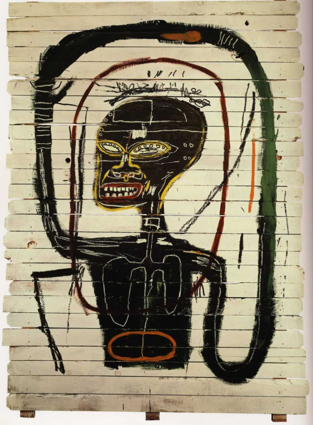 Jean-Michel Basquiat, Flexible (1984)