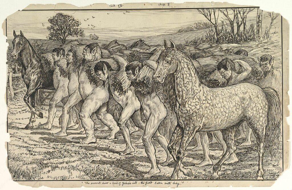Satir Jenius Swift dan Perjalanan Gulliver 4 perjalanan gulliver,kisah liliput,novel gulliver,sastrawan inggris terkenal di dunia,karya jonathan swift
