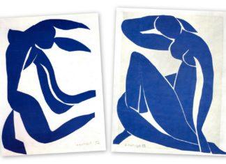 Blue Nudes II, Henri Matisse