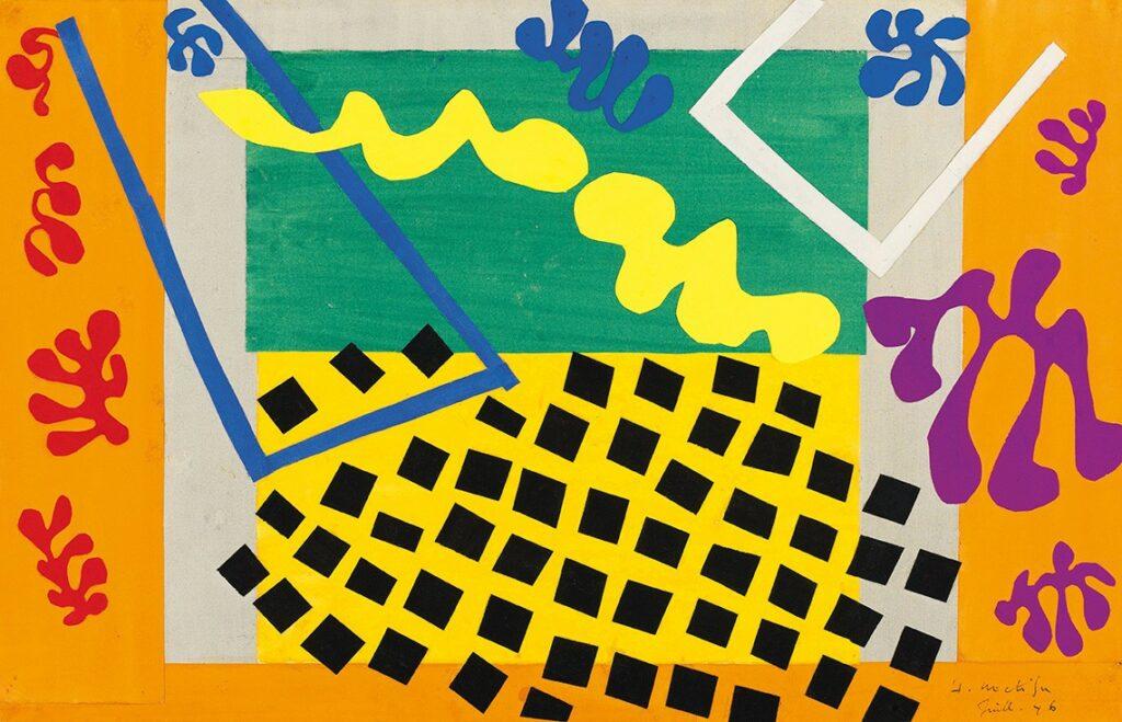 Cacophony 3 Pelukis Henri Matisse