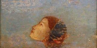 LukisanOdilon Redon - Homageto Goya