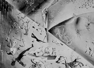 Lukisan Salvador Dali - Honey is Sweeter than Blood