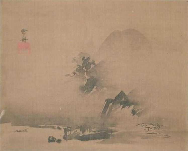Meditasi Ruang (Bagian 2): Ruang-antara 6 lukisan zen sesshu toyo
