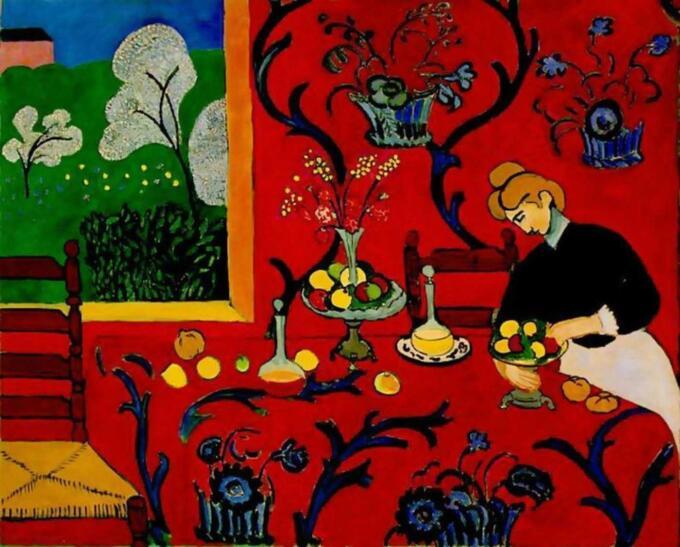 LukisanHenry Matisse, Harmony in Red