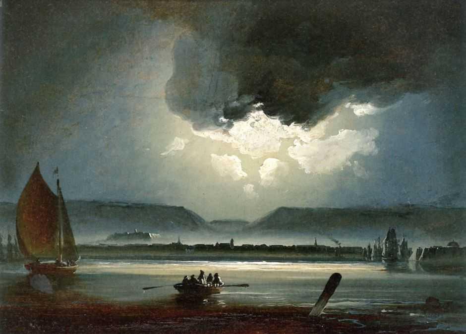 Lukisan Naturalisme Moonlight View