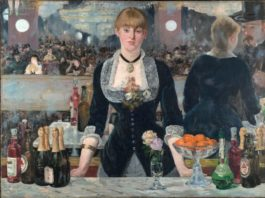 Lukisan Edouard Manet, A Bar at the Folies-Bergère
