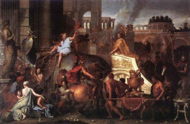 Masuknya Alexander ke Babylon