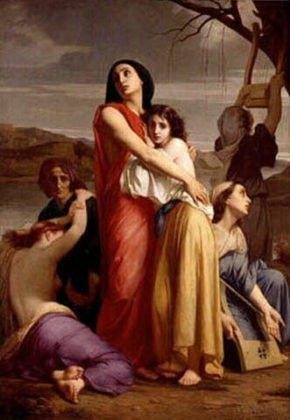 Penawanan perempuan Jerusalem di Babylonia
