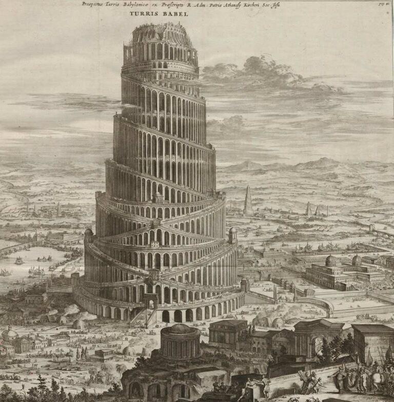 Menara Babel Babylonia