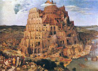 menara babel besar