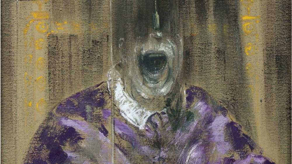 Francis Bacon: The Violence Presence 1 lukisan francis bacon,lukisan menyeramkan,lukisan figuratif,lukisan kekerasan,lukisan mengerikan
