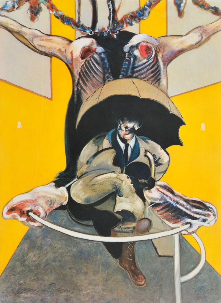 Francis Bacon: The Violence Presence 5 lukisan francis bacon,lukisan menyeramkan,lukisan figuratif,lukisan kekerasan,lukisan mengerikan