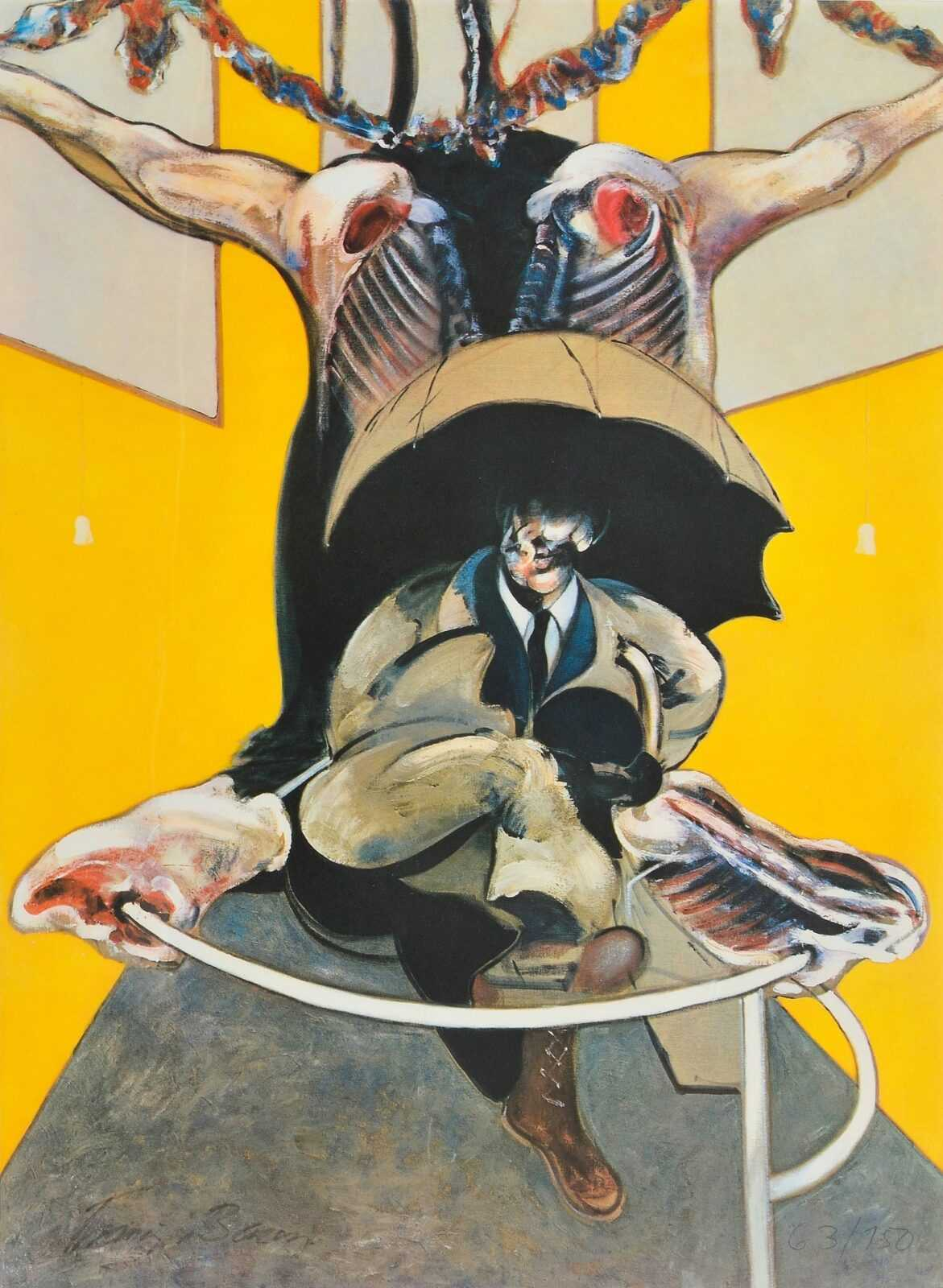 Second Version of 'Painting',Lukisan Francis Bacon