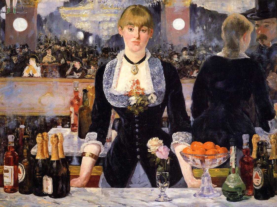 Edouard Manet - A Bar at the Folies-Bergere - 1882