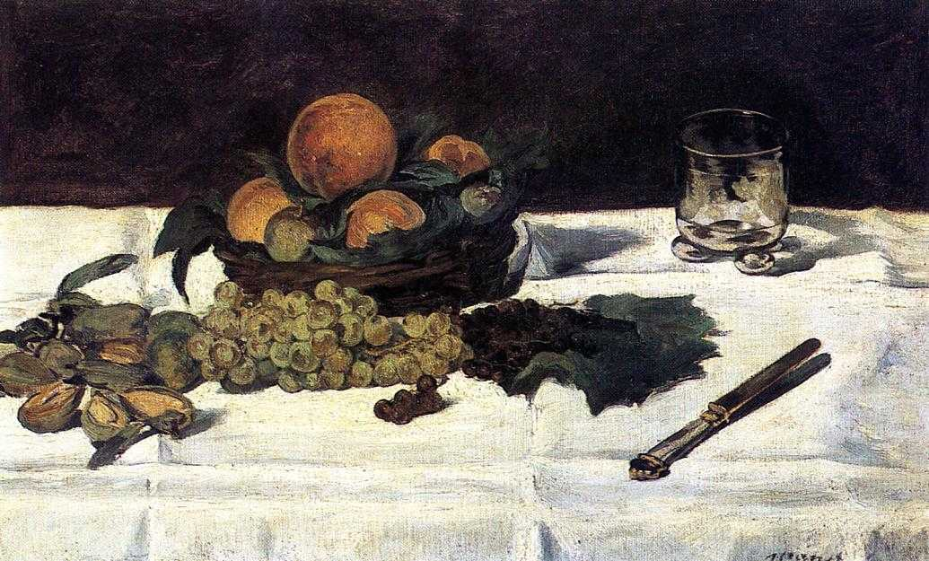 Edouard Manet - Fruit on a Table - 1864