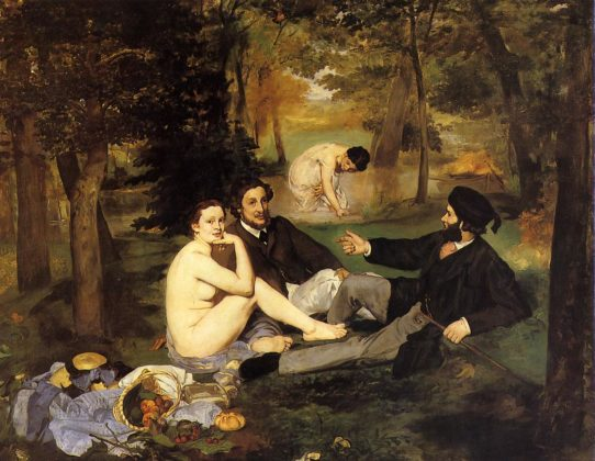 douard Manet - Luncheon on the Grass - 1863