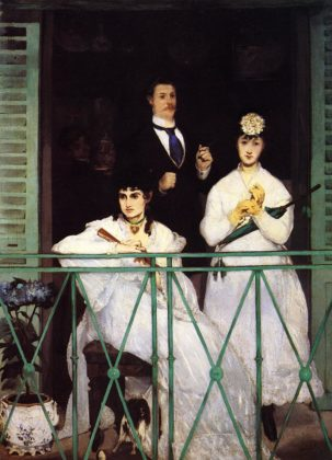 Edouard Manet - The Balcony - 1868 - 1869