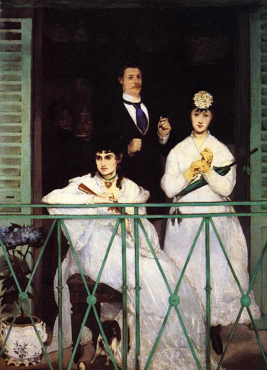 Edouard Manet - The Balcony - 1868 - 1869