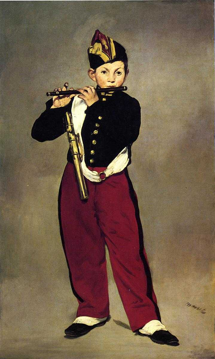 Edouard Manet - The Fifer - 1866