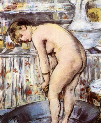 Edouard Manet - Woman in the Tub - 1878 - 1879