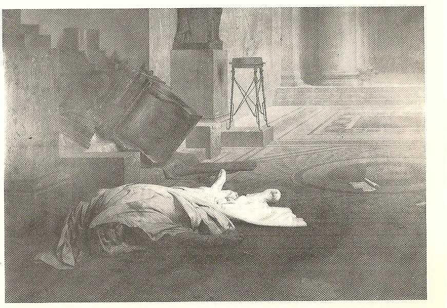 Edouard Manet: (Narasi) Tanpa Narasi 4 edouard manet,lukisan edouard manet,le suicide,lukisan kematian,seni modern