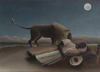 pemain musik gypsy tidur