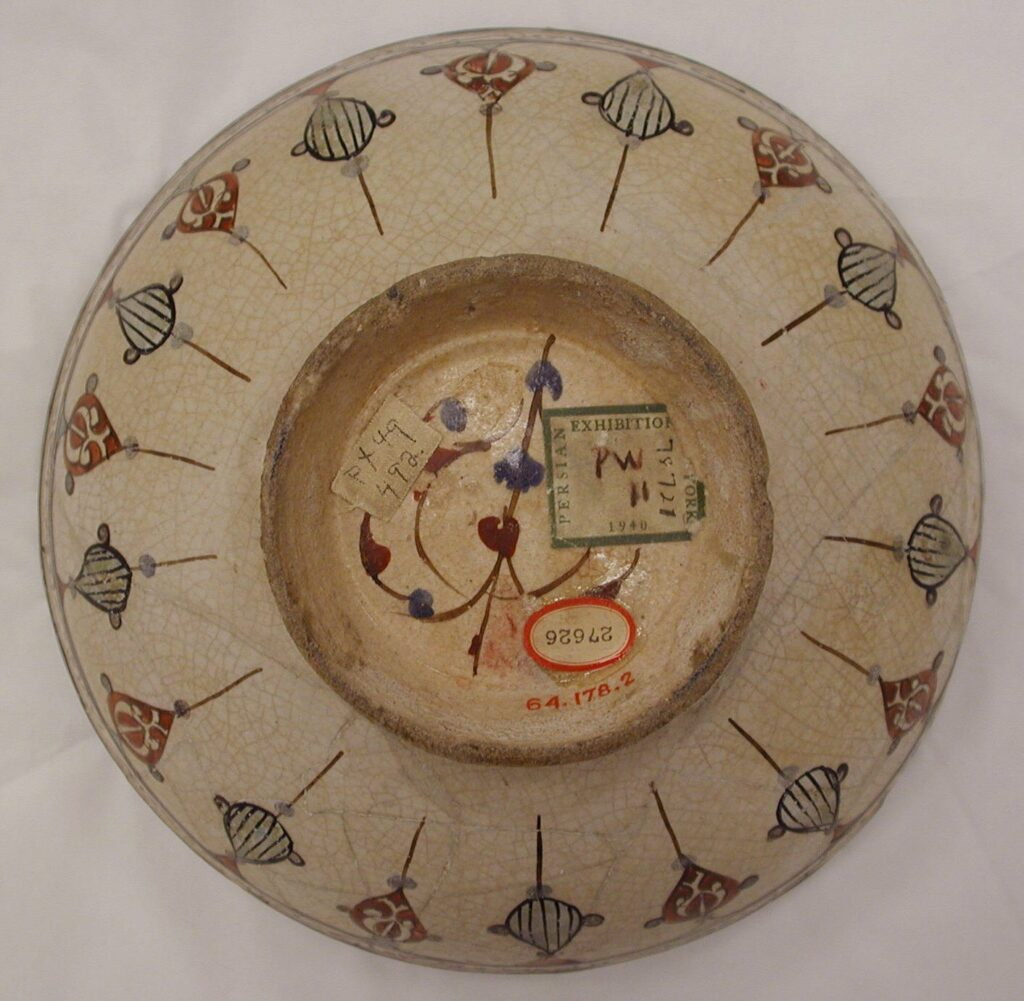 Estetika Islam: Penyair Tanah Liat Abu Zayd al‑Kashani 3 keramik islam,seni tembikar islam,abu zayd al-kashani,keramik persia,estetika islam