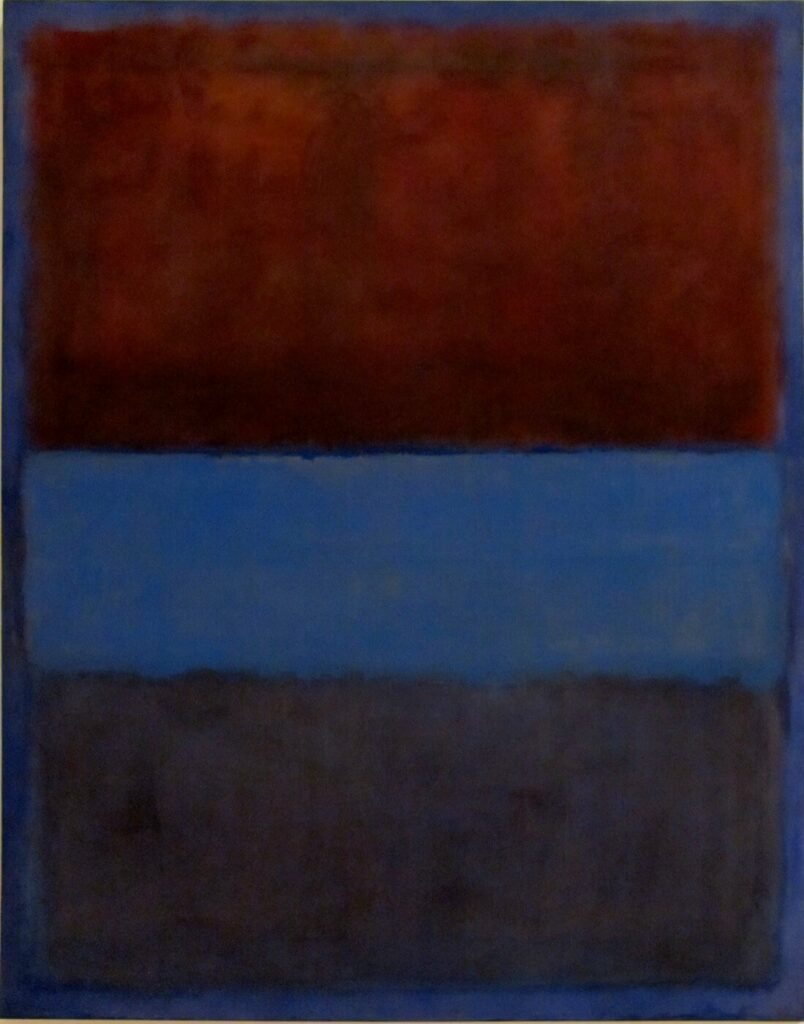 Lukisan Mark Rothko: Abstraksi Mitomorfosis 6 lukisan mark rothko