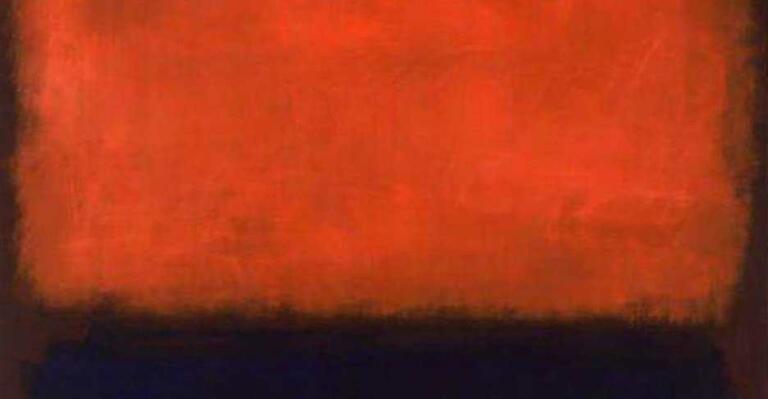Lukisan Mark Rothko: Abstraksi Mitomorfosis