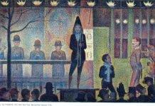 parade du cirque - georges seurat