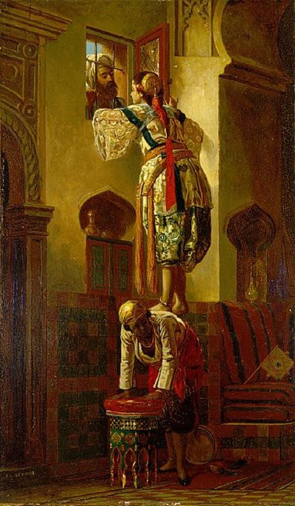 Jean-Léon Gérôme: Melampaui Orientalisme 25 lukisan jean-léon gérôme,lukisan orientalisme,kritik orientalis,kritik edward said terhadap orientalisme,imajinasi barat atas timur