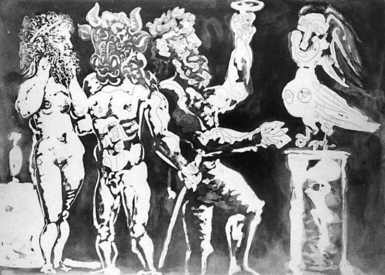 Lukisan Mitos Picasso (Ovid Bagian 3)