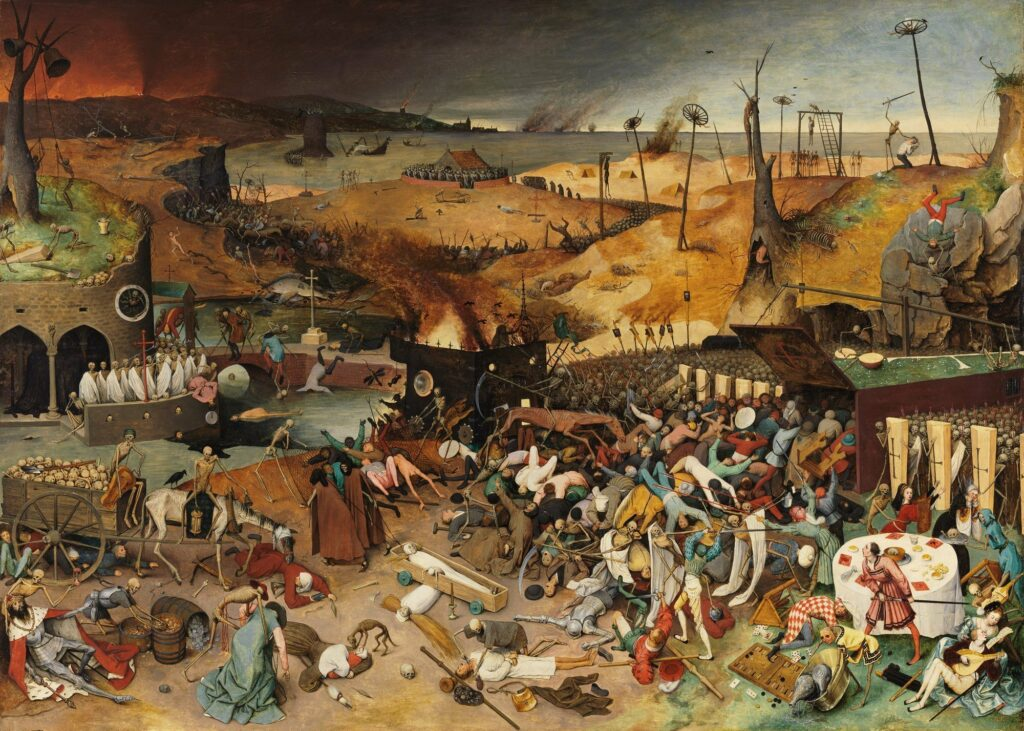 Tarian Kematian Bruegel the Elder - The Triumph of Death