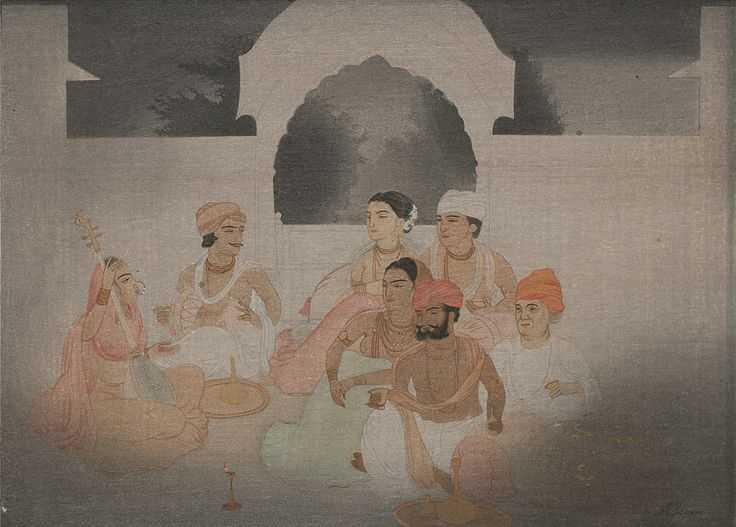 Lukisan India #1: Abanindranath Tagore dan Aliran Seni Bengali 22 lukisan india
